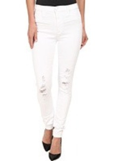Hudson Barbara High Waist Super Skinny Jeans in Marmont