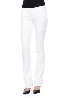 Hudson Beth Boot-Cut Jeans, White