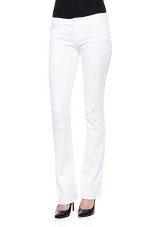 Hudson Beth Boot-Cut Jeans, White
