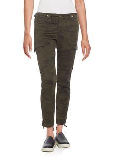Hudson Camo-Print Skinny Cargo Pants