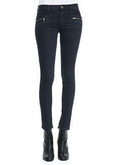 Hudson Chimera Blue Wild Zipper-Detail Skinny Jeans