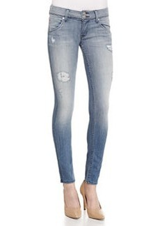 Hudson Collin Seized Distressed Skinny Jeans