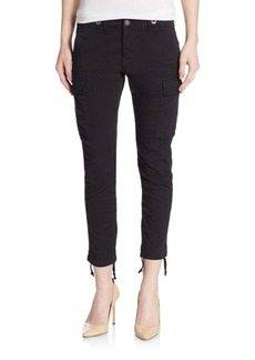 Hudson Cropped Skinny Cargo Pants