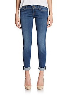Hudson Cuffed Skinny Jeans