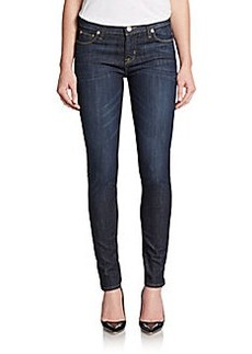 Hudson Dark Wash Super-Skinny Jeans