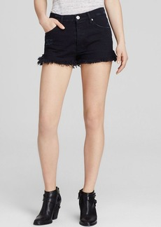 Hudson Denim Shorts - Tori Slouch in Downtown