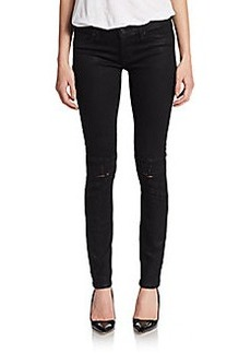 Hudson Distressed Super Skinny Jeans