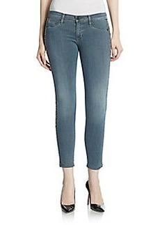Hudson Embellished Skinny Jeans