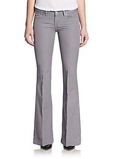 Hudson Ferris Linen & Cotton Blend Flare Jeans