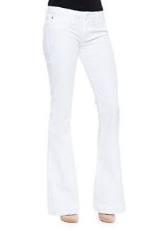 Hudson Ferris Stretch-Twill Flare-Leg Jeans