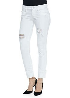 Hudson Ginny Cropped Distressed Jeans, Gateway