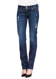 Hudson Ginny Forfeit Straight-Leg Jeans