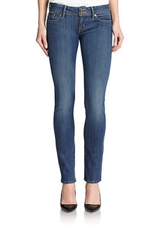 Hudson Ginny Roll-Up Skinny Ankle Jeans