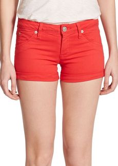 Hudson Hampton Cuffed Denim Shorts