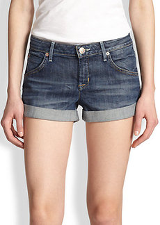 Hudson Hampton Cuffed Denim Shorts