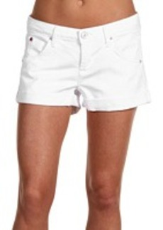 Hudson Hampton Cuffed Short Short in White