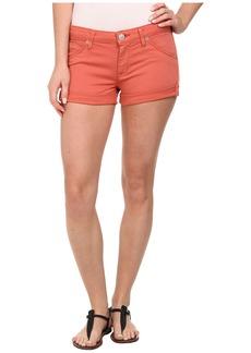 Hudson Hampton Cuffed Shorts in California Poppy