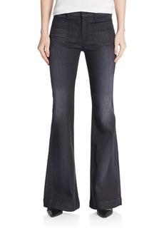 Hudson High-Waist Flare-Leg Jeans