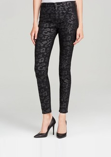 Hudson Jeans - Bloomingdale's Exclusive Barbara High Waist Super Skinny in Black Foil Leopard