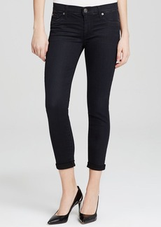 Hudson Jeans - Harkin Crop in Black Shrine