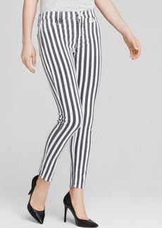 Hudson Jeans - Nico Mid Rise Skinny in City Stripe