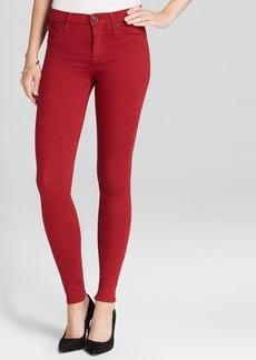 Hudson Jeans - Nico Mid Rise Super Skinny in Cinnabar