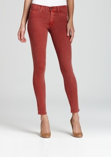 Hudson Jeans - Nico Mid Rise Super Skinny in Sepia