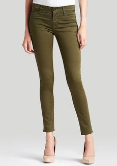 Hudson Jeans - Nico Mid Rise Super Skinny in Tangled Vines