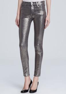 Hudson Jeans - Nico Second Skin Skinny in Silver Snake