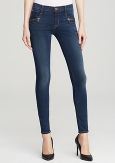 Hudson Jeans - Spark Mid Rise Super Skinny in Ignorance is Bliss