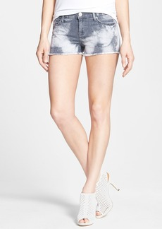 Hudson Jeans 'Amber' Tie Dye Cutoff Shorts (Concrete Acid)