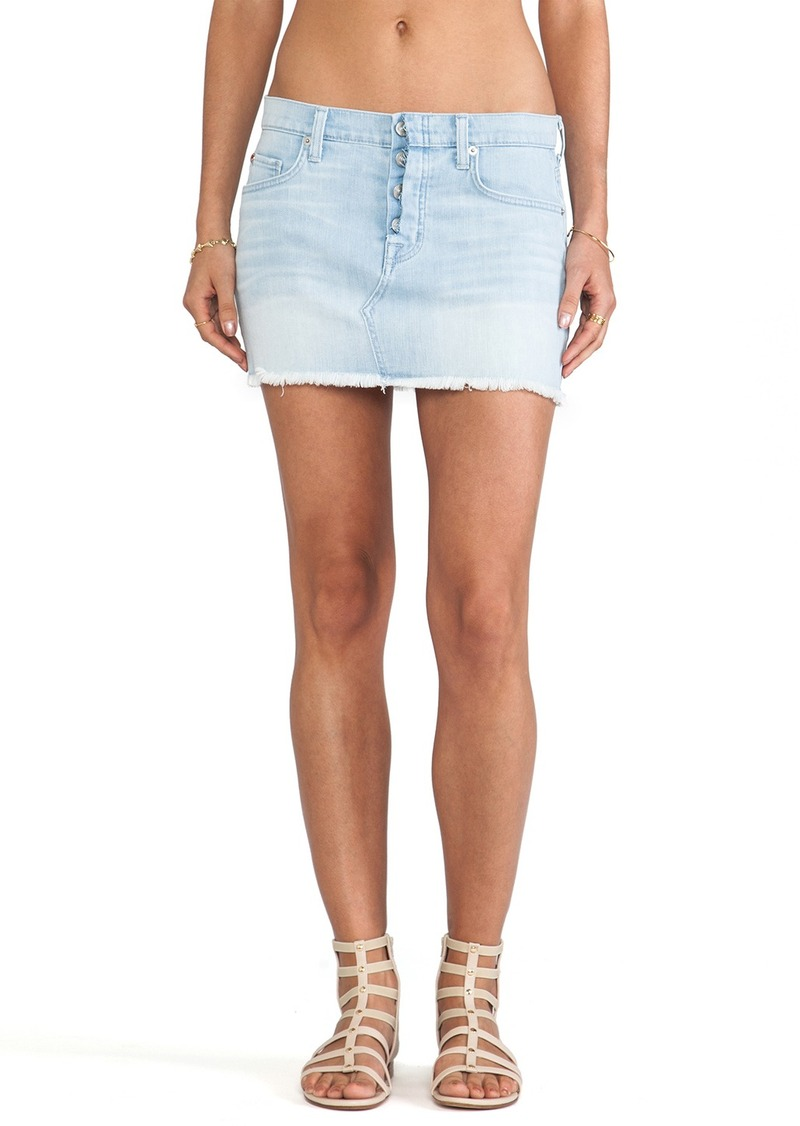 Hudson Jeans Anya Mini Skirt