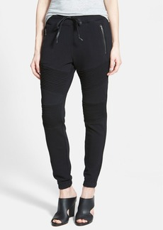 Hudson Jeans 'Avery' Moto Sweatpants