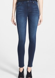 Hudson Jeans 'Barbara' High Rise Super Skinny Jeans (Follow Up)