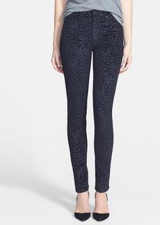 Hudson Jeans 'Barbara' High Waist Super Skinny Jeans (Velveteen Underground)