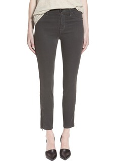 Hudson Jeans 'Barbara' High Waist Ankle Super Skinny Jeans (Chrome Equinox)