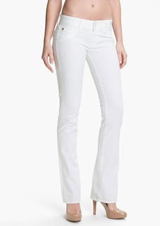 Hudson Jeans 'Beth' Baby Bootcut Jeans (White)