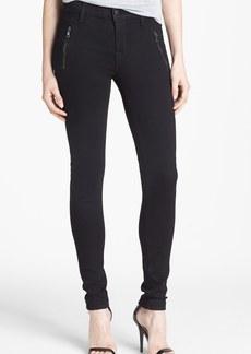 Hudson Jeans 'Biker' Skinny Jeans (Black)