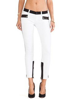 Hudson Jeans Chelsea Colorblock Super Skinny in Retreat
