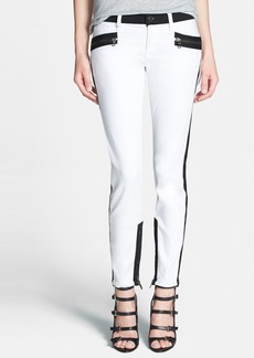 Hudson Jeans 'Chelsea' Colorblock Super Skinny Jeans (Retreat)