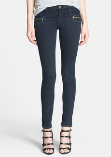 Hudson Jeans 'Chimera' Zip Detail Skinny Jeans (Bluewild)