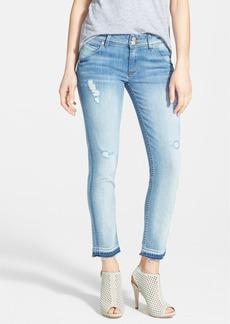 Hudson Jeans 'Collin' Crop Skinny Jeans (Ladyland)
