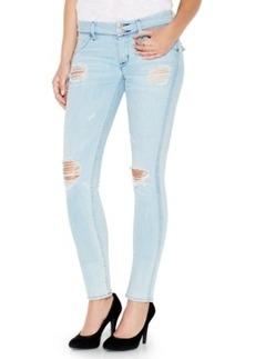 Hudson Jeans Collin Distressed Skinny Jeans, Strata Wash