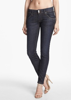 Hudson Jeans 'Collin' Mid Rise Skinny Jeans (Abbey)