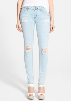 Hudson Jeans 'Collin' Mid Rise Skinny Jeans (Strata)