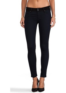 Hudson Jeans Collin Skinny in Blue Black