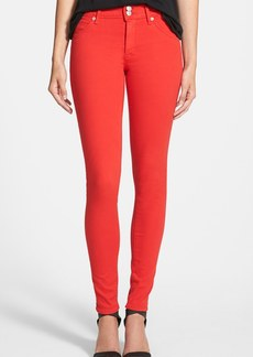 Hudson Jeans 'Collin' Skinny Stretch Jeans (Red)