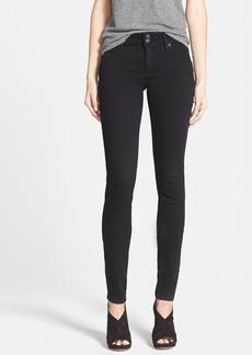 Hudson Jeans 'Collin' Supermodel Skinny Jeans (Black)