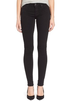 Hudson Jeans 'Collin' Supermodel Skinny Jeans (Black) (Long)