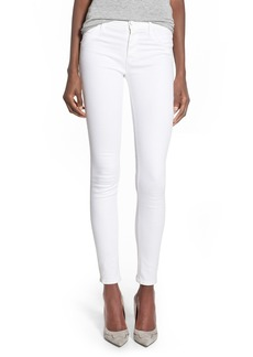 Hudson Jeans 'Collin' Supermodel Skinny Jeans (White) (Long)
